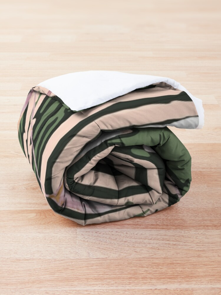 Alternate view of Botanical Blush  Comforter