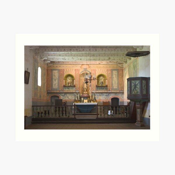 Altar at La Purisima Art Print