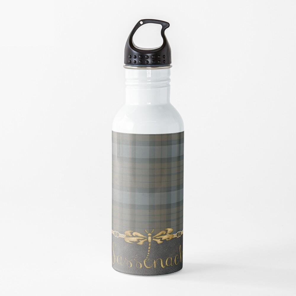 TARTAN LEATHER SASSENACH Water Bottle