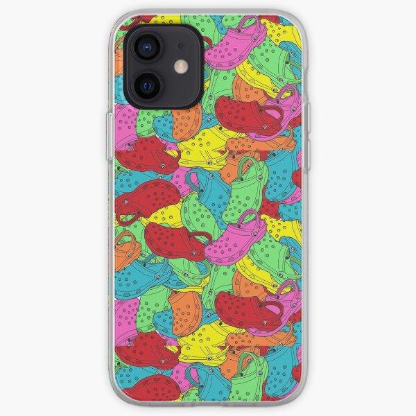 crocs collage iPhone Soft Case