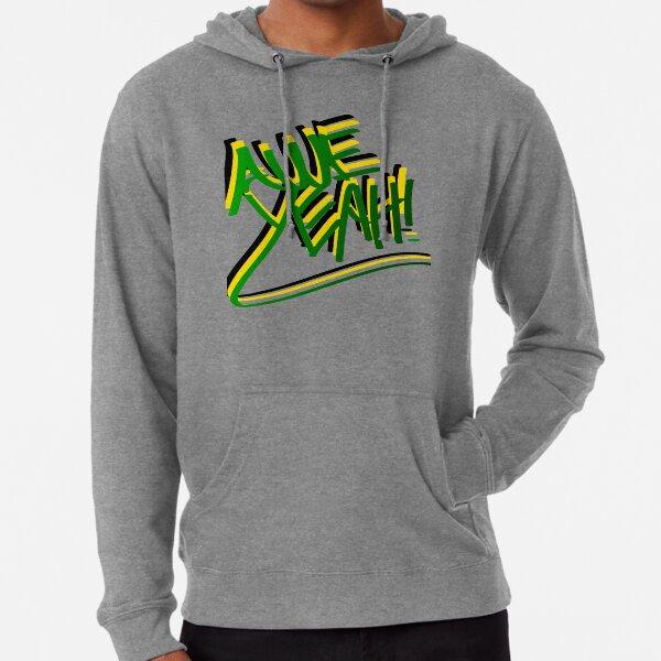 Awe Yeah! (Line Graffiti Style) Lightweight Hoodie