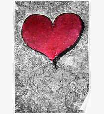 A Heart Of Stone Is Still A Heart Poster