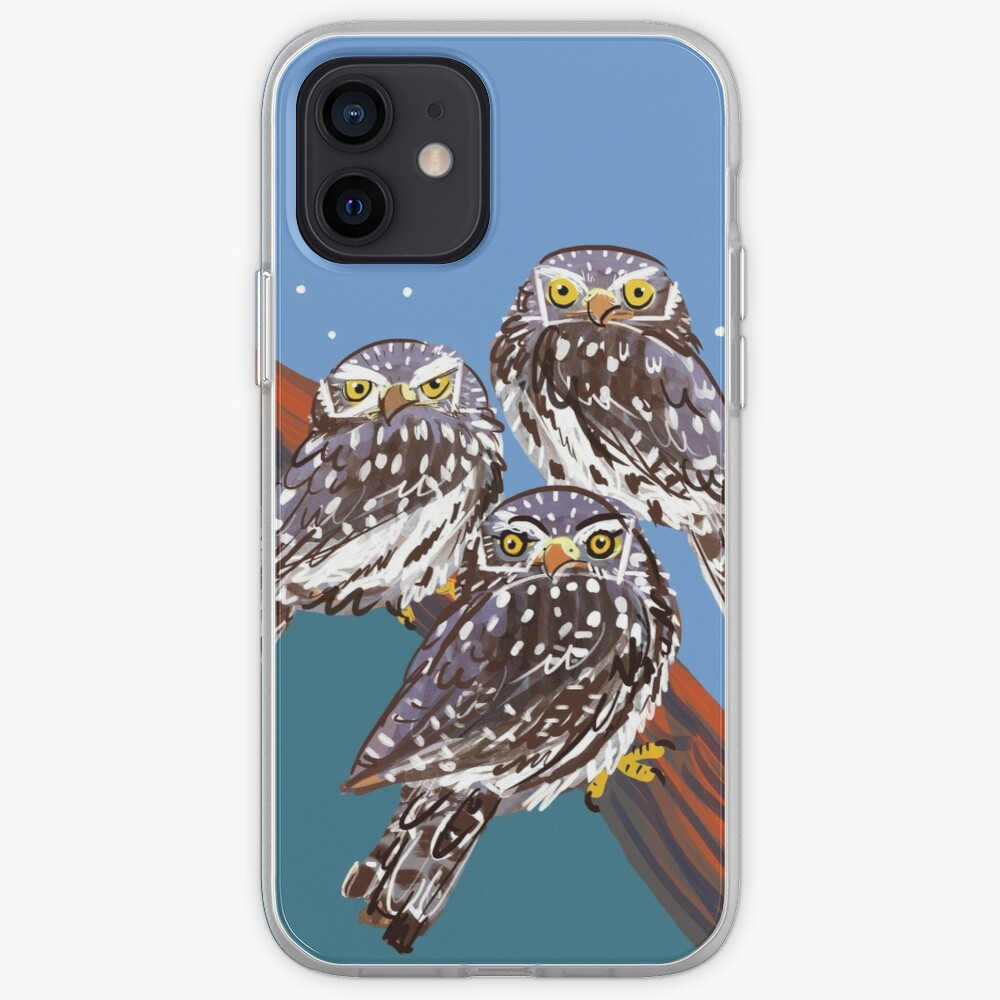 Northern Pygmy owl Funda y vinilo para iPhone