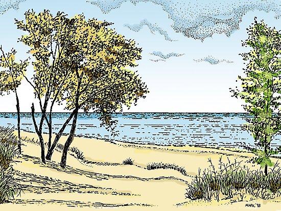Iniana Dunes, Indiana by MarkArt