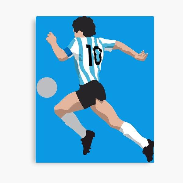 Diego Maradona Argentina Lienzo