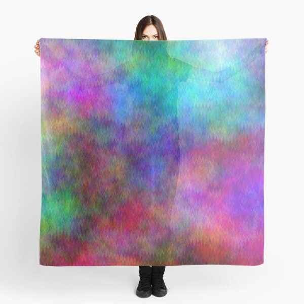Nebula - Dreamy Psychedelic Space Inspired - Abstract Art Scarf