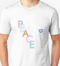 Peace is the Word T-Shirt Unisex T-Shirt