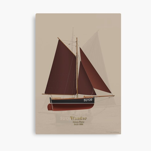 Inchen Ferry - Wonder Canvas Print