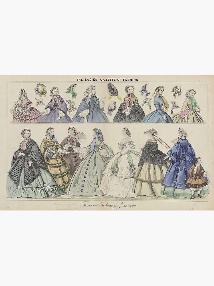 The Ladies Gazette of Fashion by liesjes