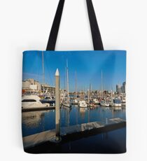 TMBC Marina from the Foredeck - Townsville Tote Bag