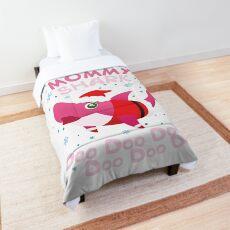 Mommy Shark Doo Doo Christmas Xmas Gift For Mommy Comforter