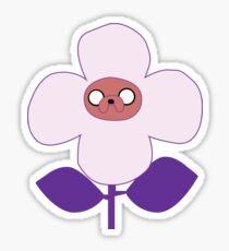 flower jake Sticker