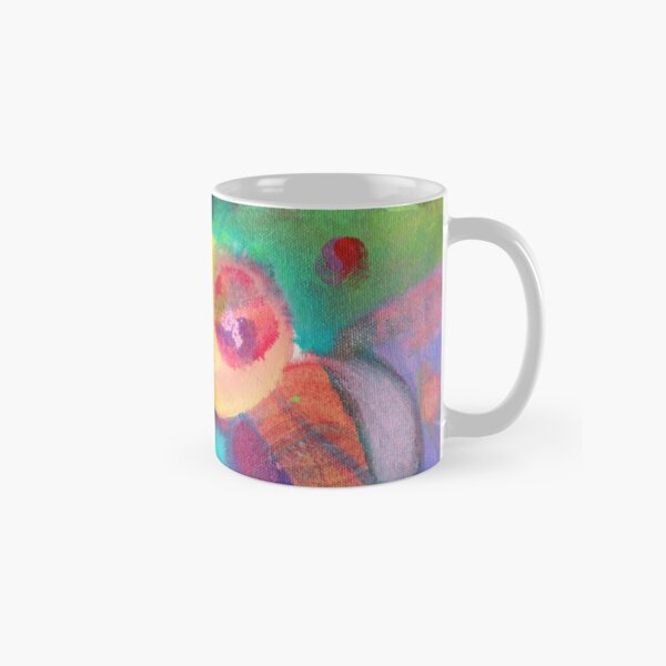 Escape. An abstract expressionist acrylic painting by Pamela Parsons Classic Mug