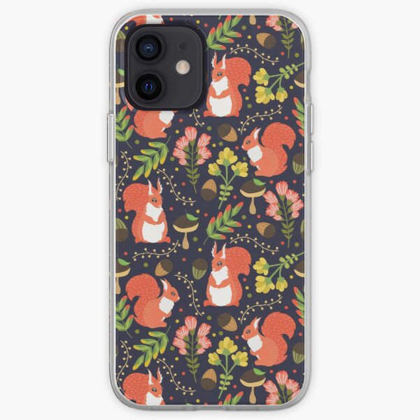 Squirrels iPhone Soft Case