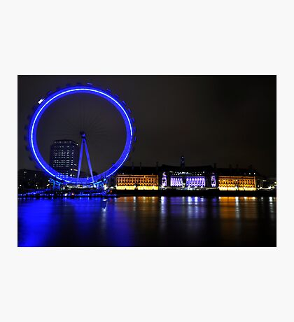 Eye across the Thames Photographic Print
