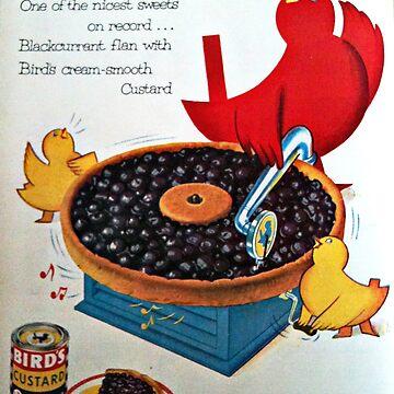 Bird's Custard old Magazine Ad by MrMinty