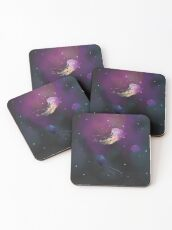 Space Jellies Coasters