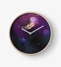 Space Jellies Clock