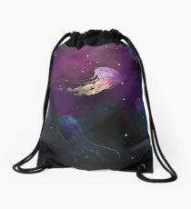 Space Jellies Drawstring Bag