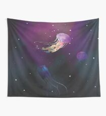 Space Jellies Wall Tapestry