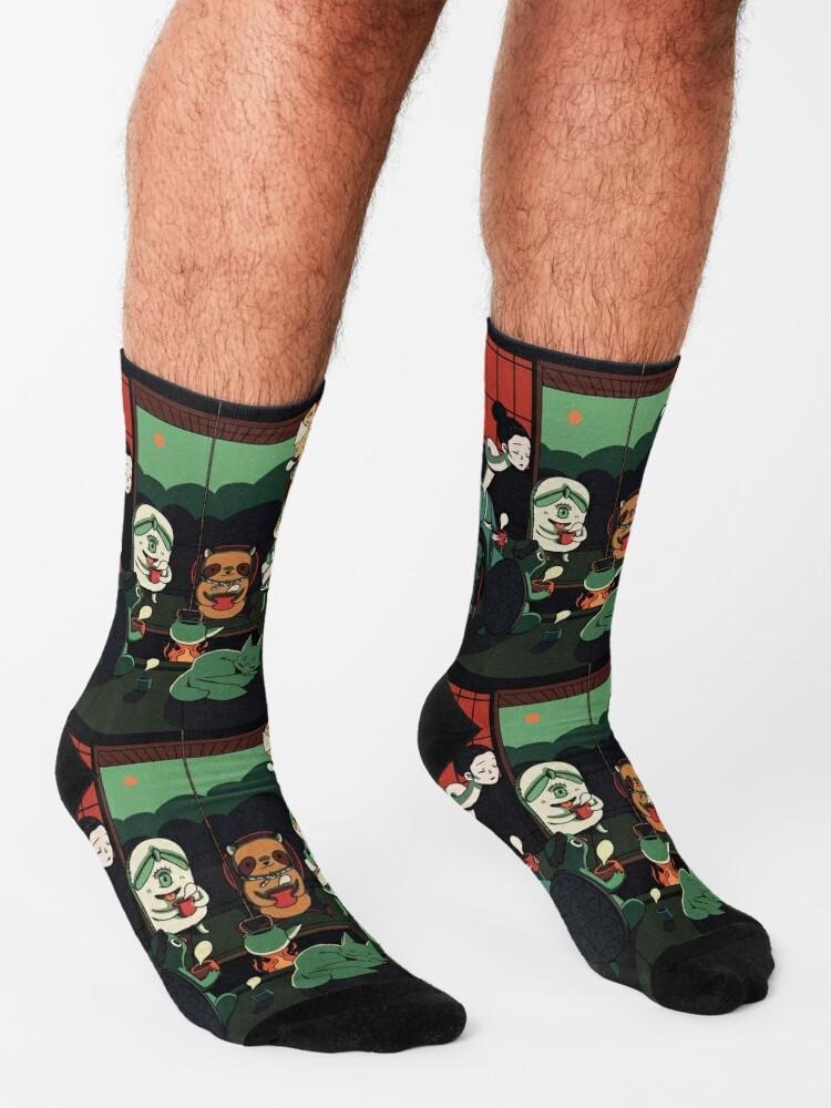 Alternate view of Yokai Tea Party Socks