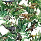 Dinosaur Jungle by CrisRodrigues