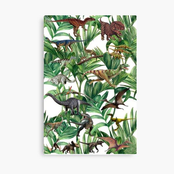 Dinosaur Jungle Canvas Print