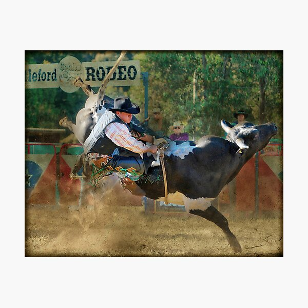 Myrtleford Rodeo - 2010 Photographic Print