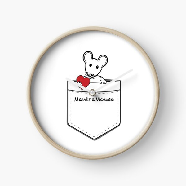 MantraMouse® Pocket of Love Clock