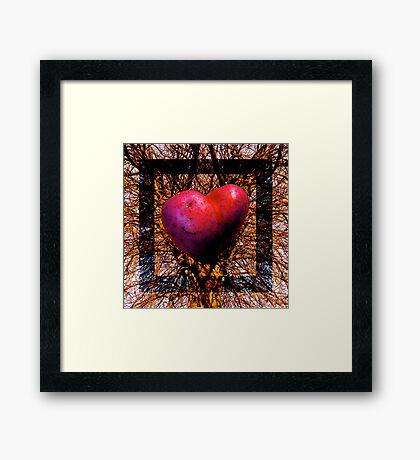 Tree art Framed Print