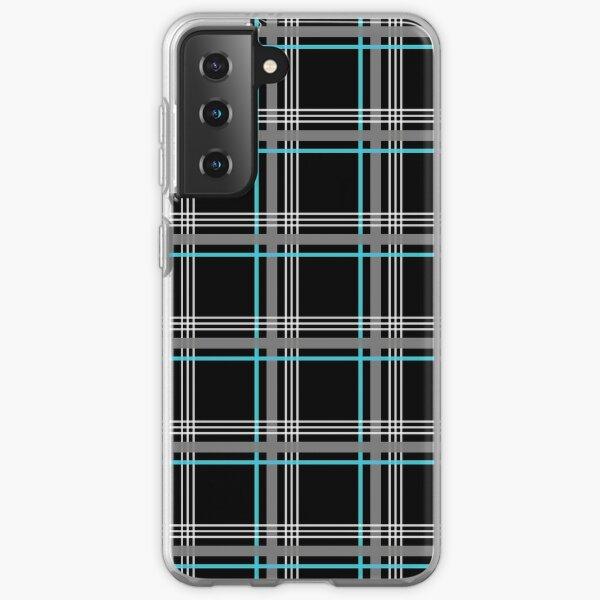 Tissu GTI Bleu Coque souple Samsung Galaxy