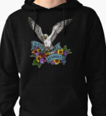 Birds are Assholes Pullover Hoodie