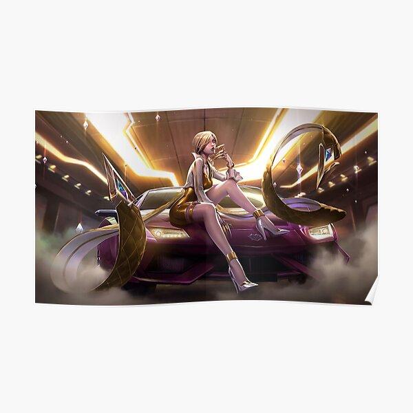 KDA Evelynn Prestige Edition Splash Art - League of Legends Poster
