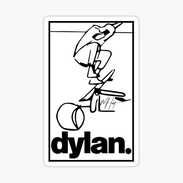 """DYLAN IMPOSSIBLE"" sticker Sticker"