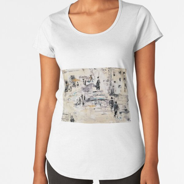Tag in Berlin Premium Rundhals-Shirt