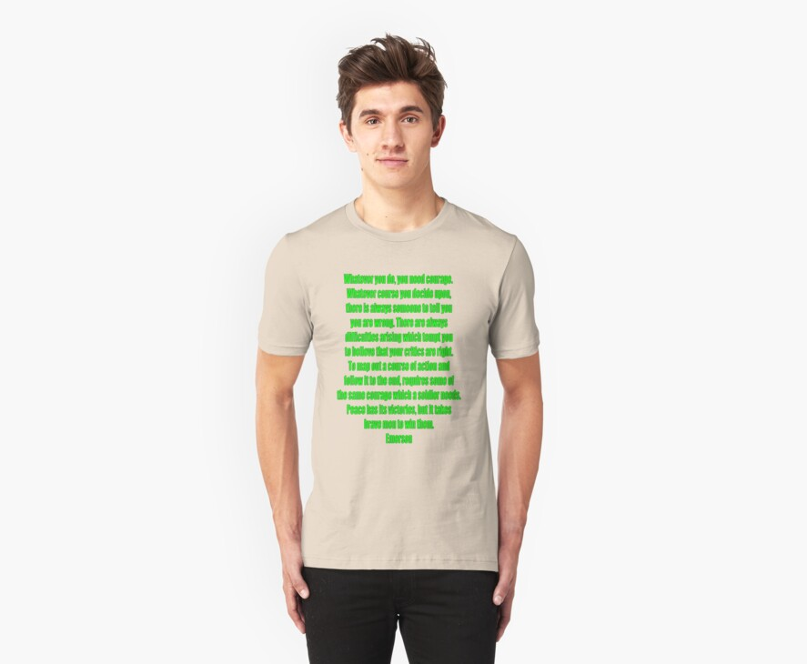 everyday courage t by dedmanshootn