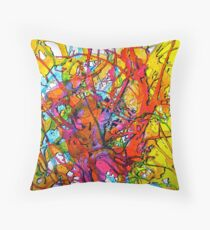 Bloodbath! Throw Pillow