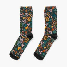 Autumn gems Sock