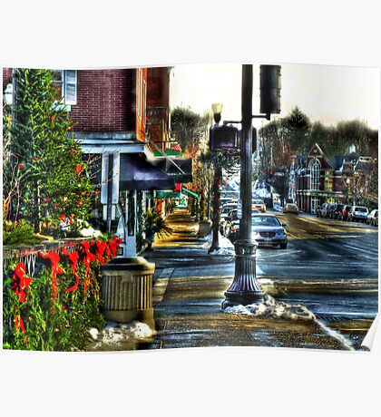 Downtown Chagrin Falls Poster