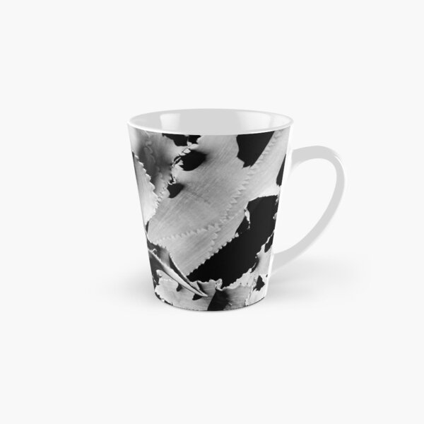Succulent in black and white Tall Mug
