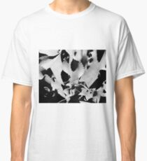 Succulent in black and white Classic T-Shirt
