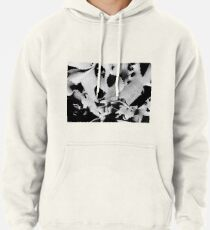 Succulent in black and white Pullover Hoodie