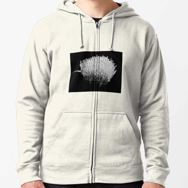 In the shadows #3 Zipped Hoodie