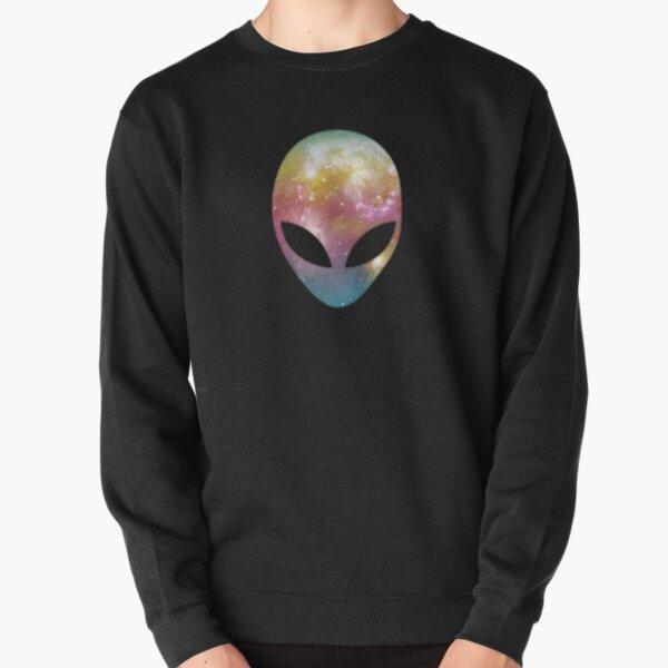 Space Alien Pullover Sweatshirt