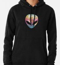 Space Alien Pullover Hoodie