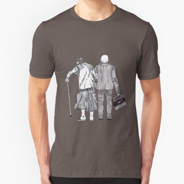Älteres Paar - aus dem Musikvideo Pain Curator - Glaube und Wahrheit Slim Fit T-Shirt