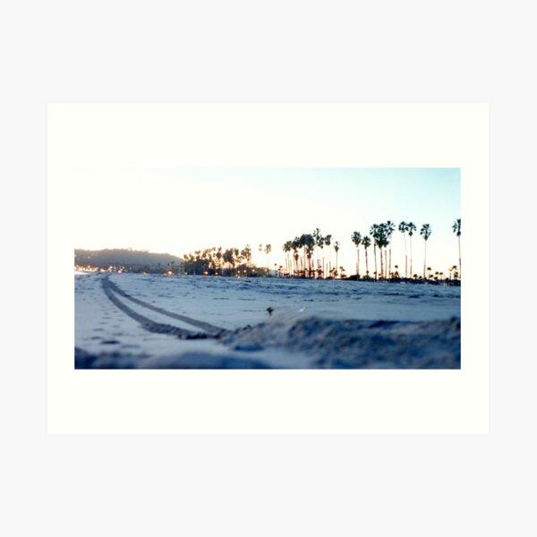Beach Trail Art Print