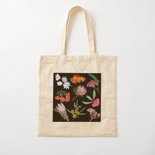 Wildblumen Baumwolltasche