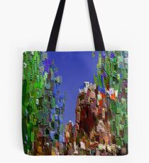 3Dish painting (virtual bas-relief) Tote Bag