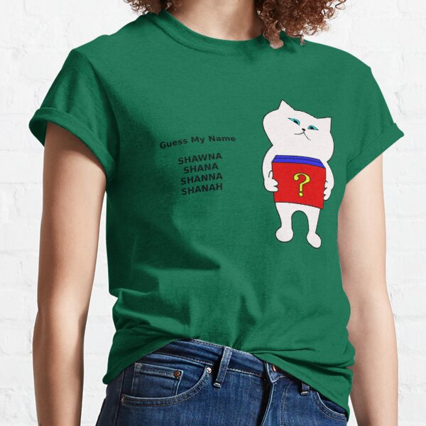Guess My Name CatBox Classic T-Shirt